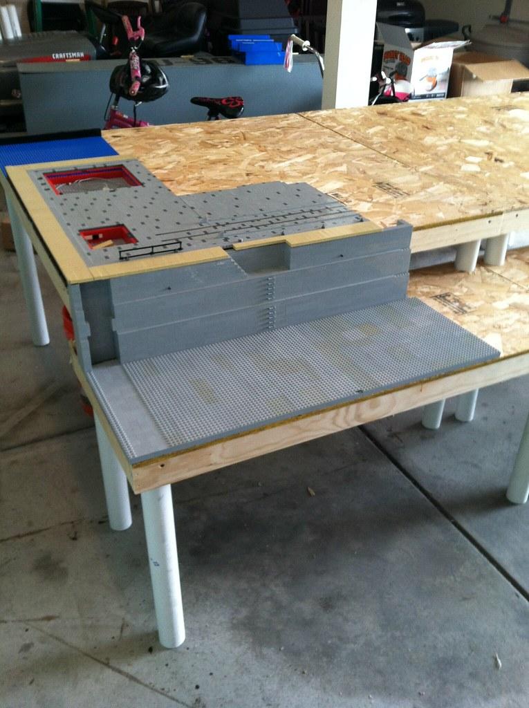 Merveilleux ... Custom Lego Tables. Complete Rip Off Of The PennLug Design | By  Nebraskau0027s MOC