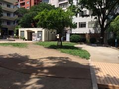 とらちゃんと恵比寿東公園