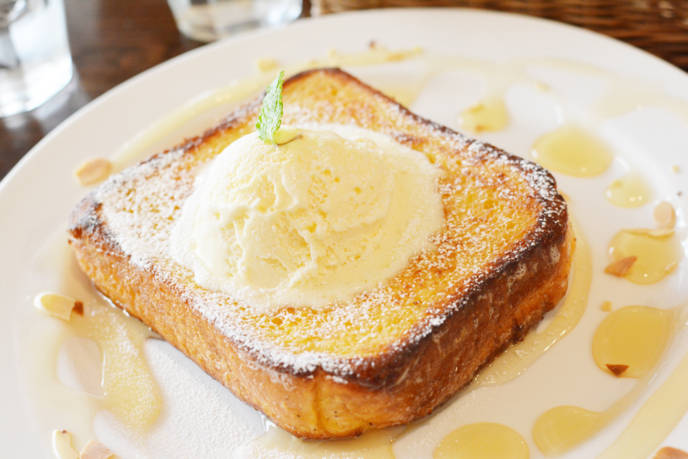 Honey toast au Baby King Kitchen