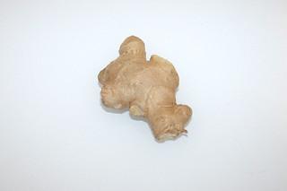 03 - Zutat frischer Ingwer / Ingredient fresh ginger
