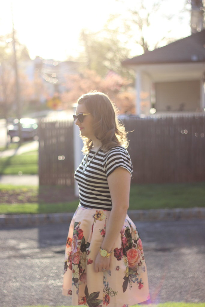 Stripes and Floral Ted Baker (1)