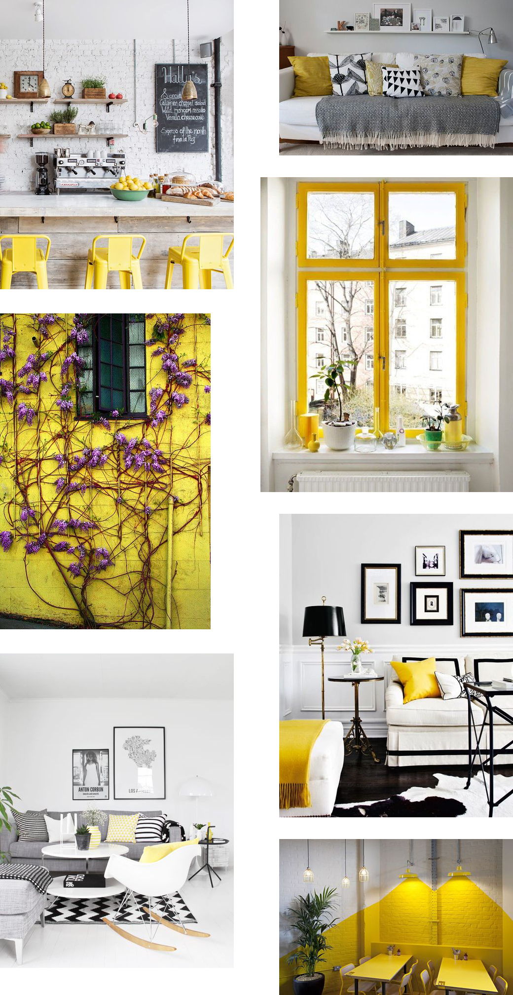 Design Inspiration: Yellow Accents