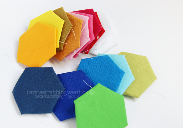 Kona solids hexagons