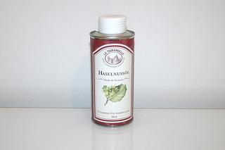 04 - Zutat Haselnussöl / Ingredient hazelnut oil