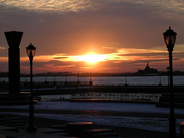 Hudson River @ WFC 2005-01-20