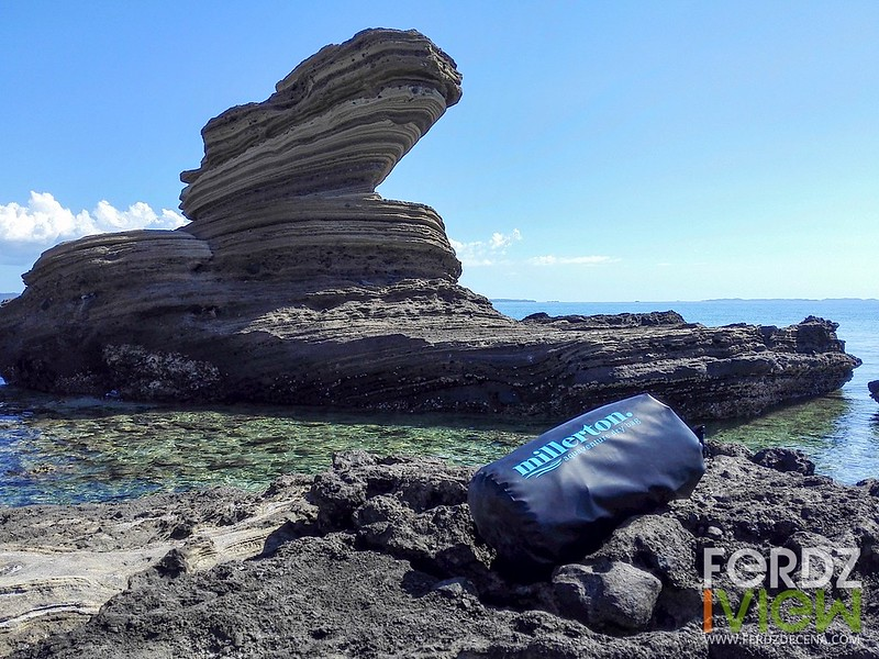 The dry bag at Animasola Island in San Pascual, Masbate