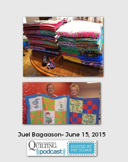 American Patchwork and Quilting Pocast guest Juel Bagaason June 2015