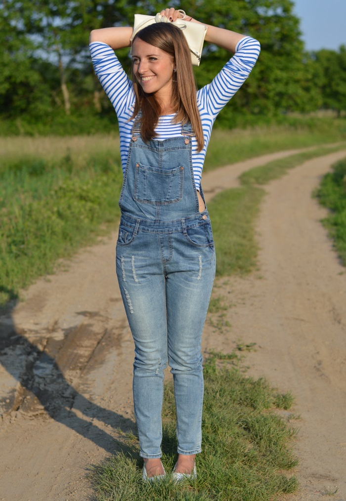 salopette, jumpsuit, wildflower girl, righe, vintage (2)