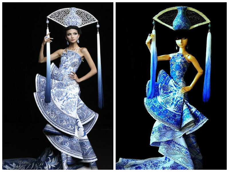 Guo Pei Haute Couture by lupe 2010