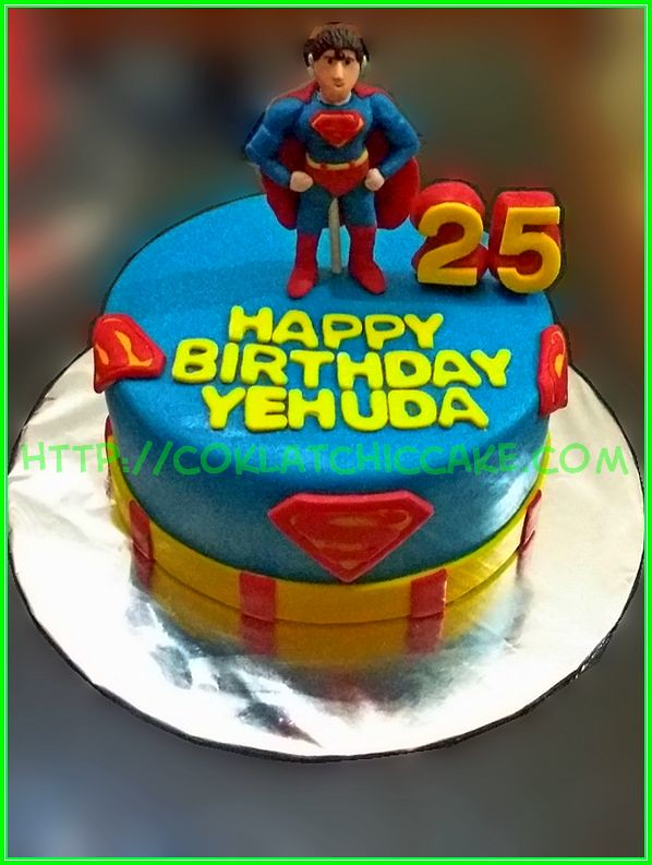 Cake superman