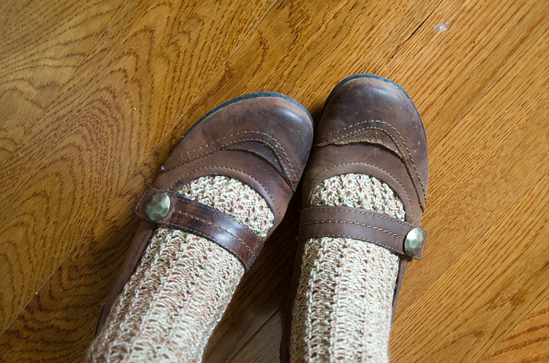 lacy ribs socks
