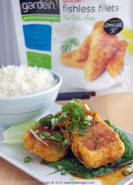 Cantonese-Style Vegan Fish