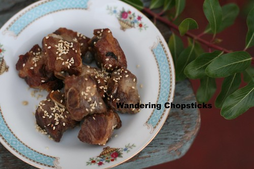 Chinese Deep-Fried Pork Ribs with Honey Vinegar Sauce 6