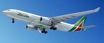Alitalia A330-200 new livery (Alitalia)