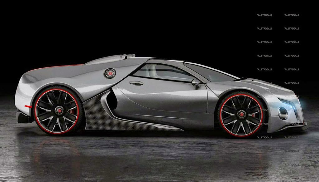 New Supercar Concept Bugatti Chiron Coming In 2016 With 1500HP