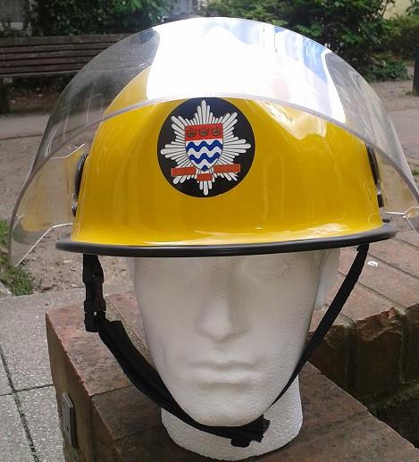 fire brigade helmet London