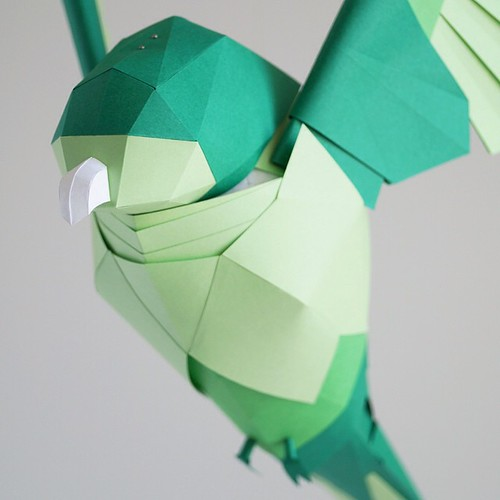 all things paper paper sculpture birds marine coutroutsios