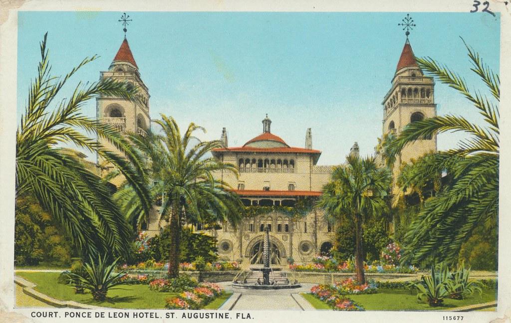 Ponce de Leon Hotel - St. Augustine, Florida