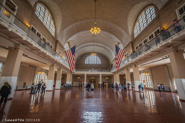 Ellis Island Registration Room
