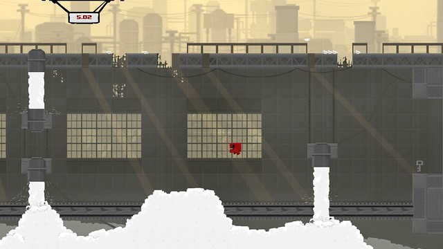 Super Meat Boy on PS4 & PS Vita
