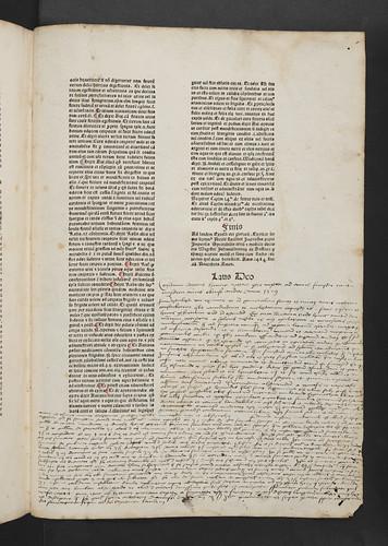 Colophon and manuscript notes in Falcutius, Nicolaus: Sermones medicinales septem