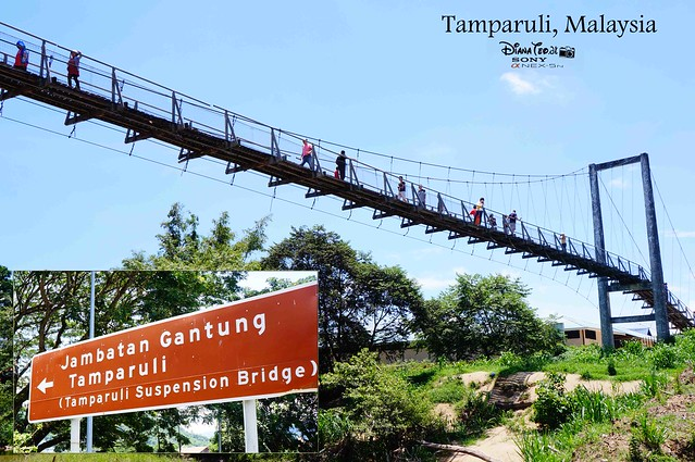 Sabah - Tamparuli Suspension Bridge
