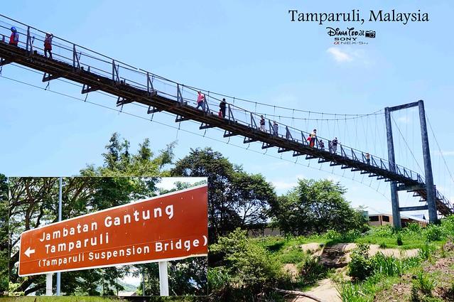Sabah - Tamparuli Suspension Bridge