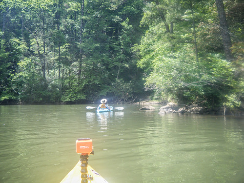 Lake Tugaloo Paddling-043