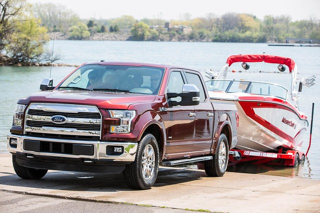 Pro Trailer Backup Assist for new F-150 makes backing up and parking a trailer easier than ever