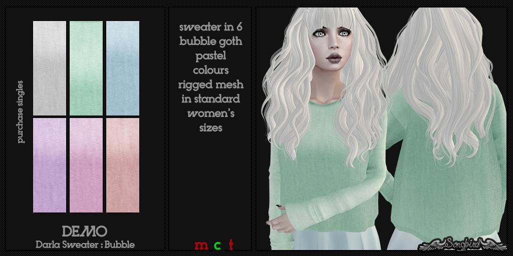 ~SongBird~ Darla Sweater : Bubble