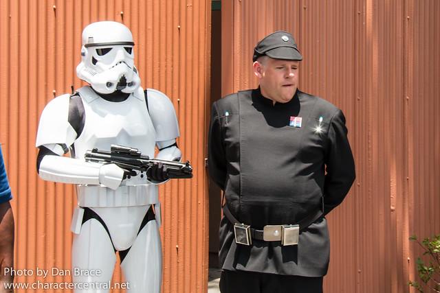 The Empire patrols the Studios