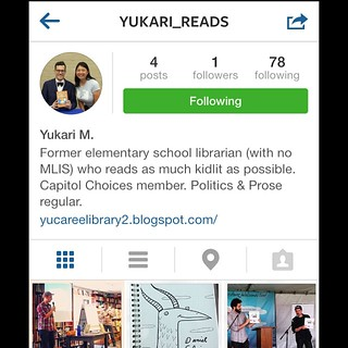 I was going through my IG feed and it really hit me how many selfies I post of me reading. That must be boring for some of you. So I created a book IG account where I'll post my book-related pics. Feel free to follow me there at @yukari_reads if you're in