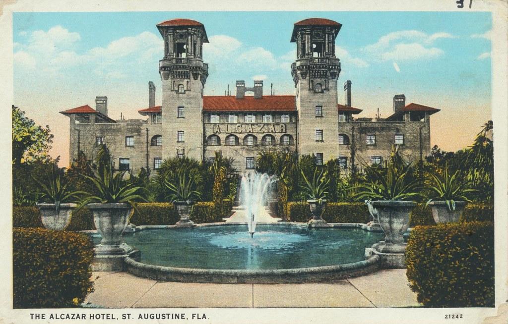 The Alcazar Hotel - St. Augustine, Florida