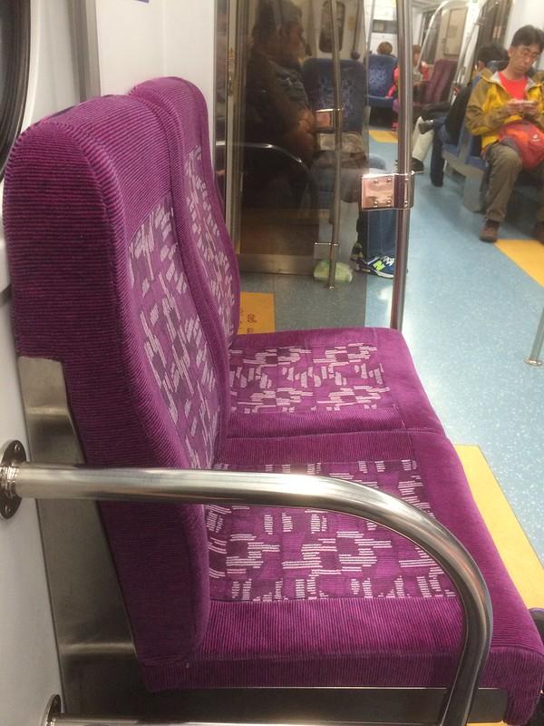 列車で台北へ戻る