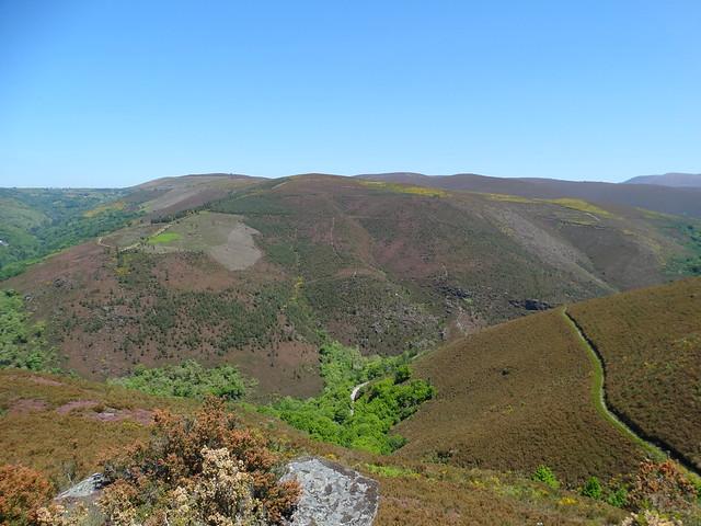 Mirador Pena de San Mamede en la ruta do Ferro de O Incio