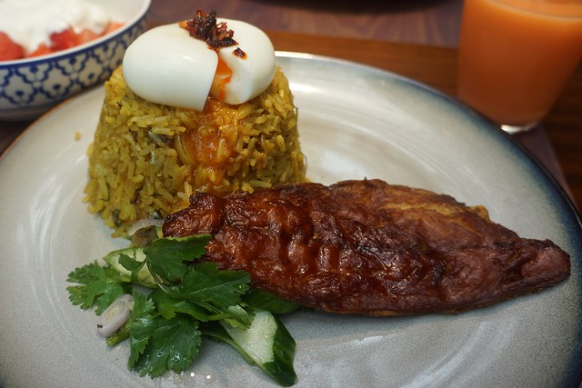 Fisherman's spiced rice - Busaba Eathai Brunch