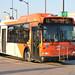 [Mississauga Transit miWay Local 1033 OBI-DBNA Orion 07.501 EPA10 HEV 40LF Bus At Sq One Terminal (City Centre Transit Terminal)]