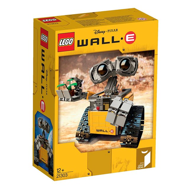 LEGO Ideas 21303 - WALL•E - BoxArt