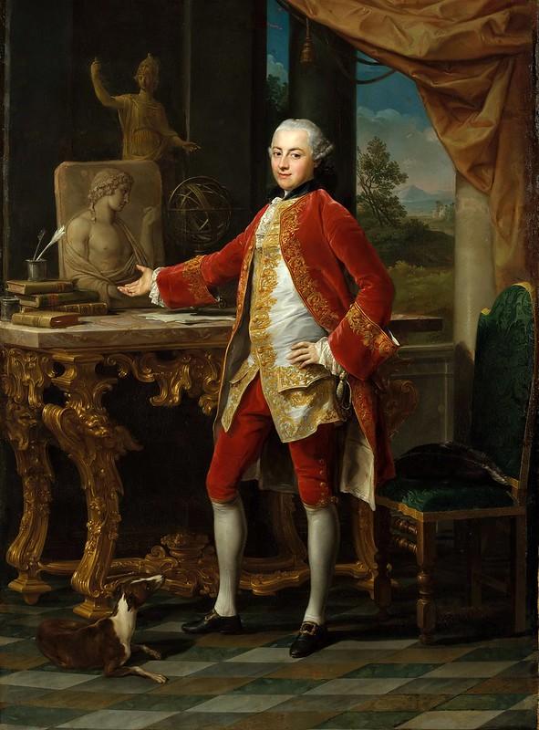 Pompeo Batoni - Portrait of a Young Man (c.1760-65)