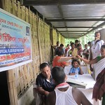 Health Camp Organised at Majuli