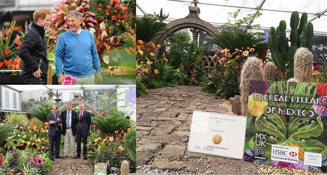 México gana oro en 'RHS Chelsea Flower Show', RU