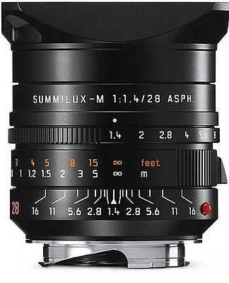 Leica présente son grand angle Summilux-M 28 mm f/1.4 ASPH