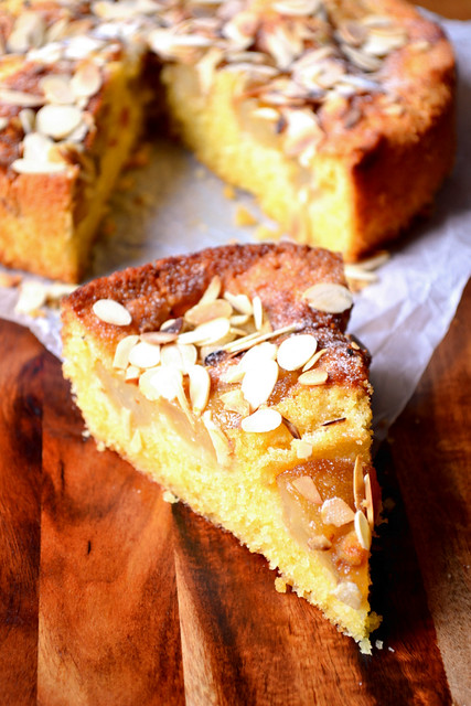 Pear Almond Cake Recipe
