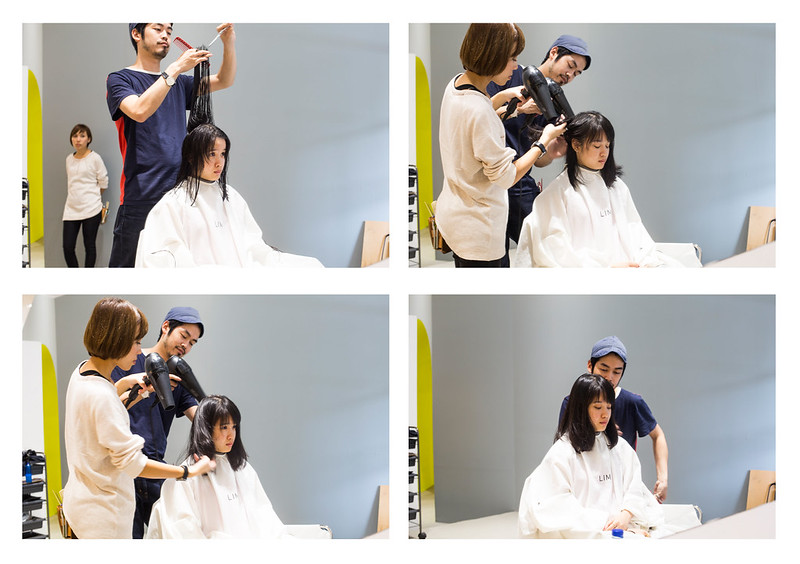 Japanese bob and perm at Kizuki + Lim