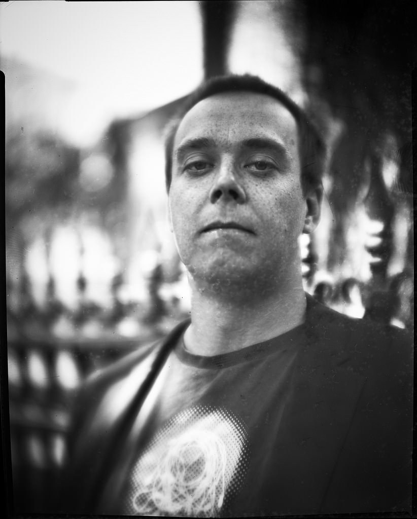Brent with Petzval lens