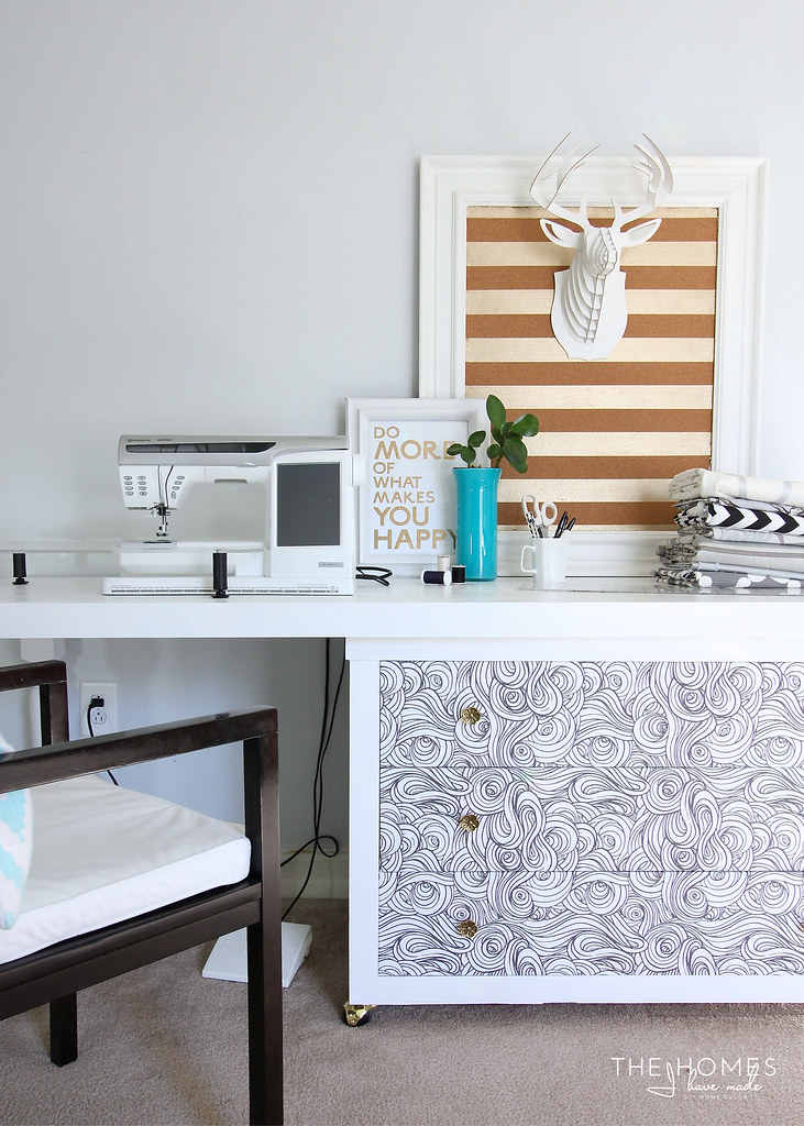 Home Tour | Craft Room