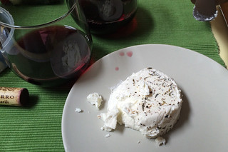 Navarro Vineyard Pinot Noir - Deep End Blend pairing Cypress Grove Chevre
