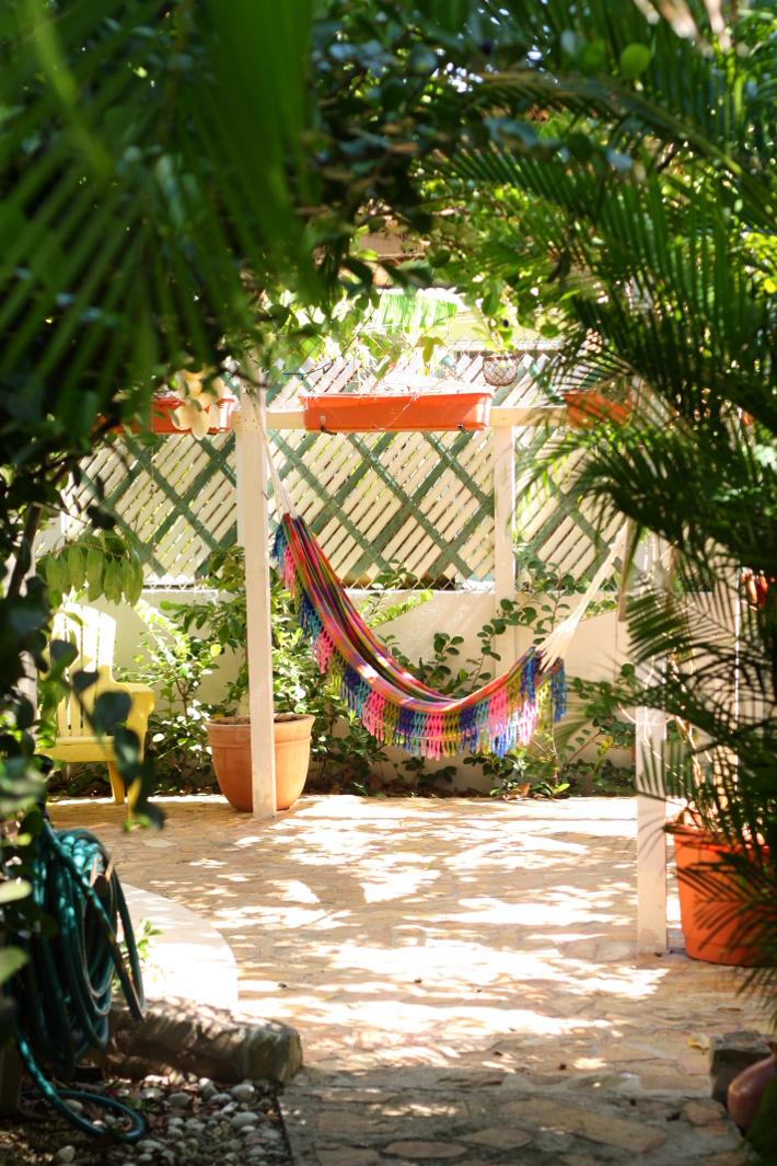 hammock terrace in Ocean Park, San Juan
