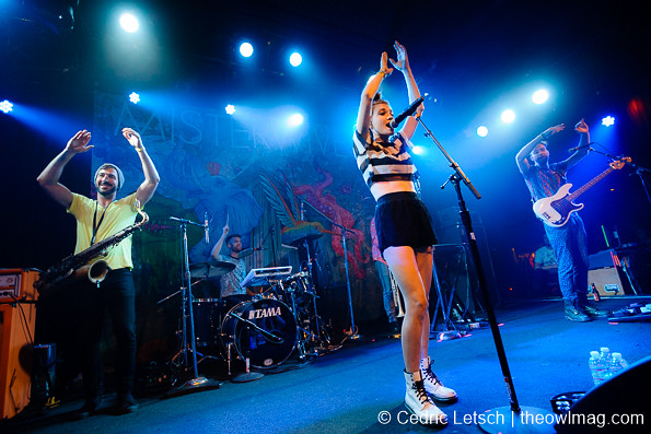 MisterWives @ The Independent, San Francisco 6/4/2015