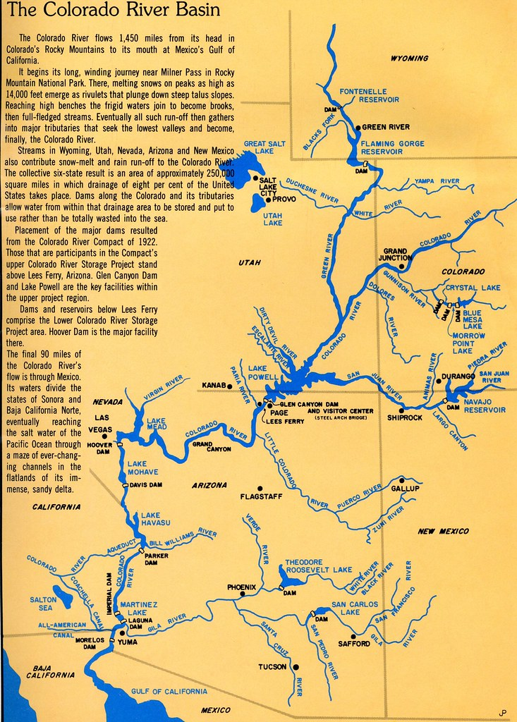 ARIZONA-A2-0001] Colorado River Basin   Print Title: Colora…   Flickr